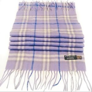 Authentic Burberry London 100% Cashmere Scarf